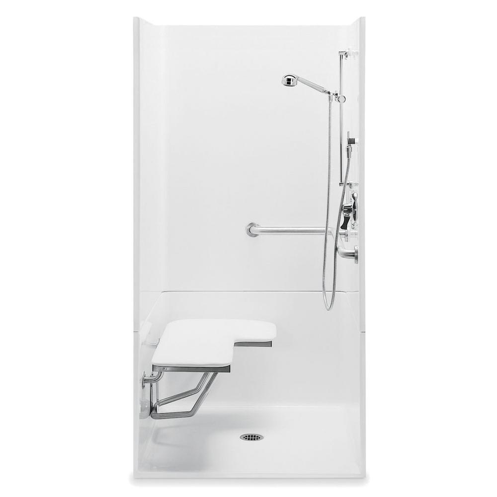 Aquatic 1363BFC2P at Elegant Designs Alcove Shower Enclosures in a ...