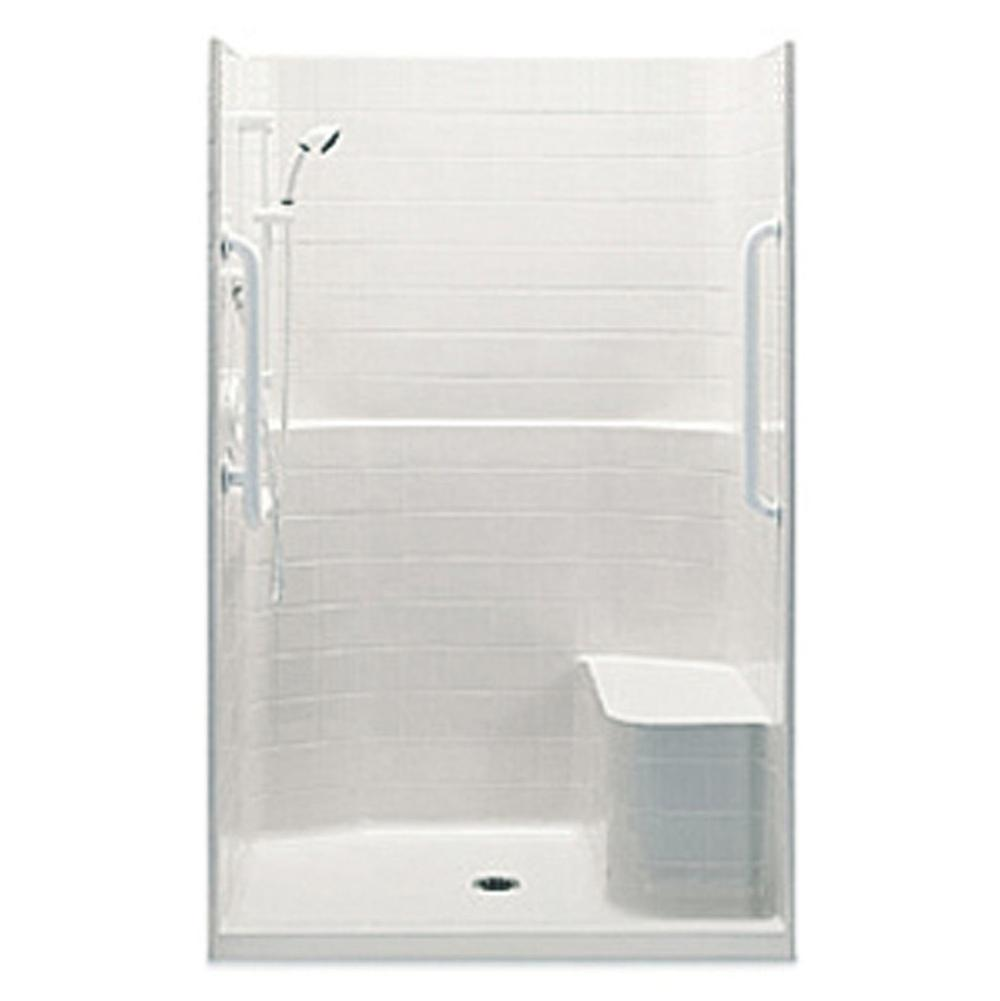 Aquatic 1483TSTHR at Elegant Designs Alcove Shower Enclosures in a ...