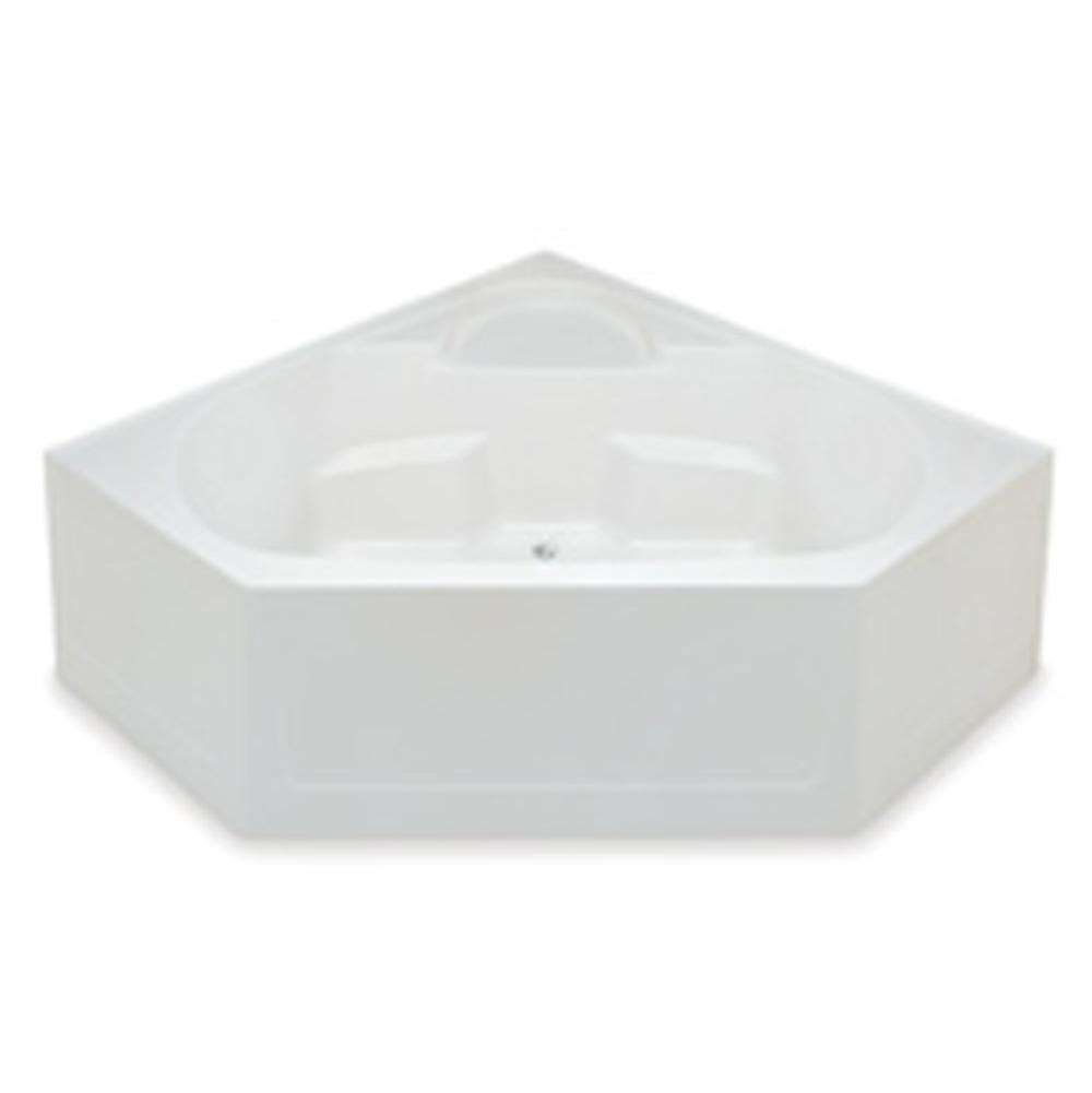 Aquatic 2600CBD-WH at Elegant Designs Corner Soaking Tubs in a ...