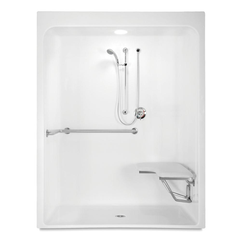 Aquatic 6030BFSC at Elegant Designs Alcove Shower Enclosures in a ...