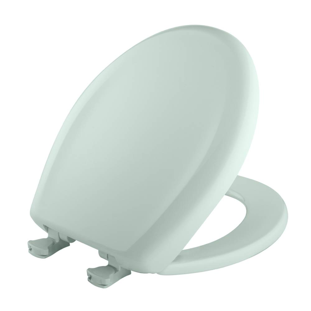 Bemis - 7B200SLOWT 645 - Round Plastic Toilet Seat with WhisperClose with EasyClean & Change Hinge and STA-TITE in Spring