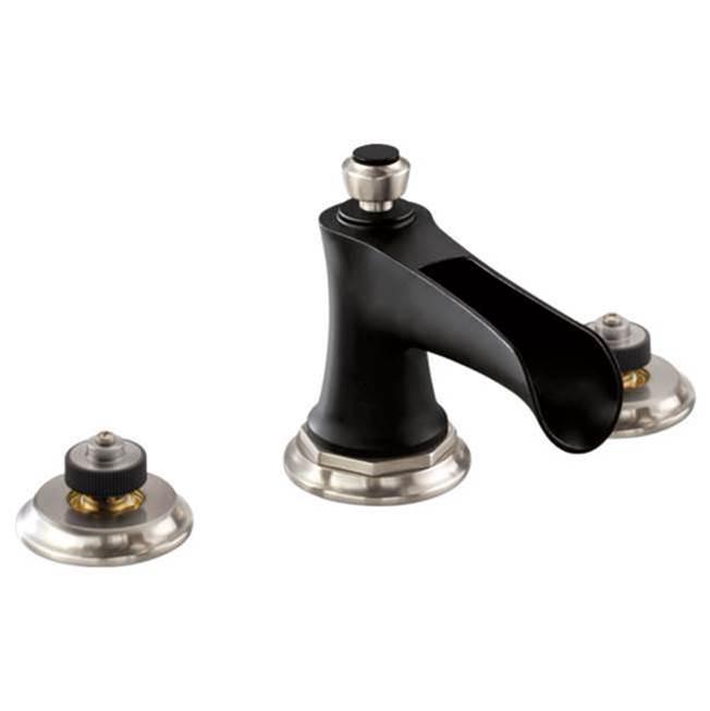 brizo widespread lavatory faucet less handles - Brizo Faucets