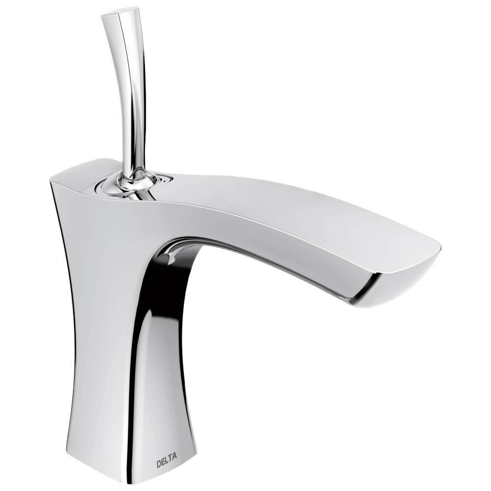 Delta Faucet 552LF-LPU at Elegant Designs Single Hole Bathroom Sink ...