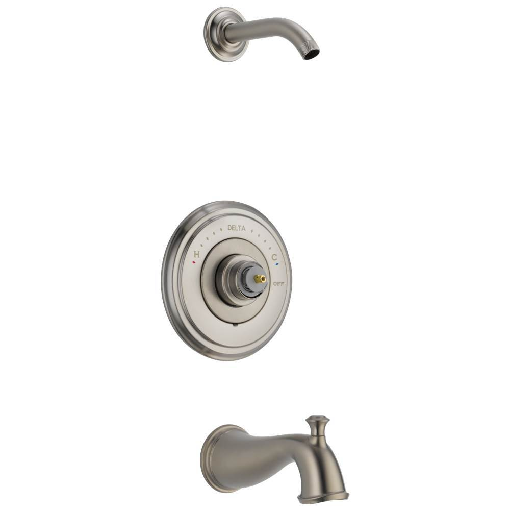 Delta Faucet T14497-SSLHP-LHD at Elegant Designs None Tub And Shower ...