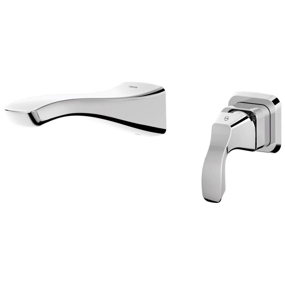 Delta Faucet T552LF-WL at Elegant Designs Wall Mounted Bathroom Sink ...