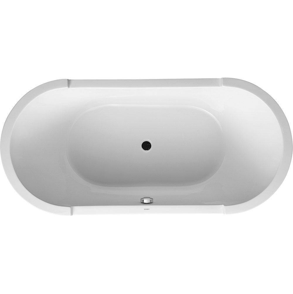 duravit oval bathtub
