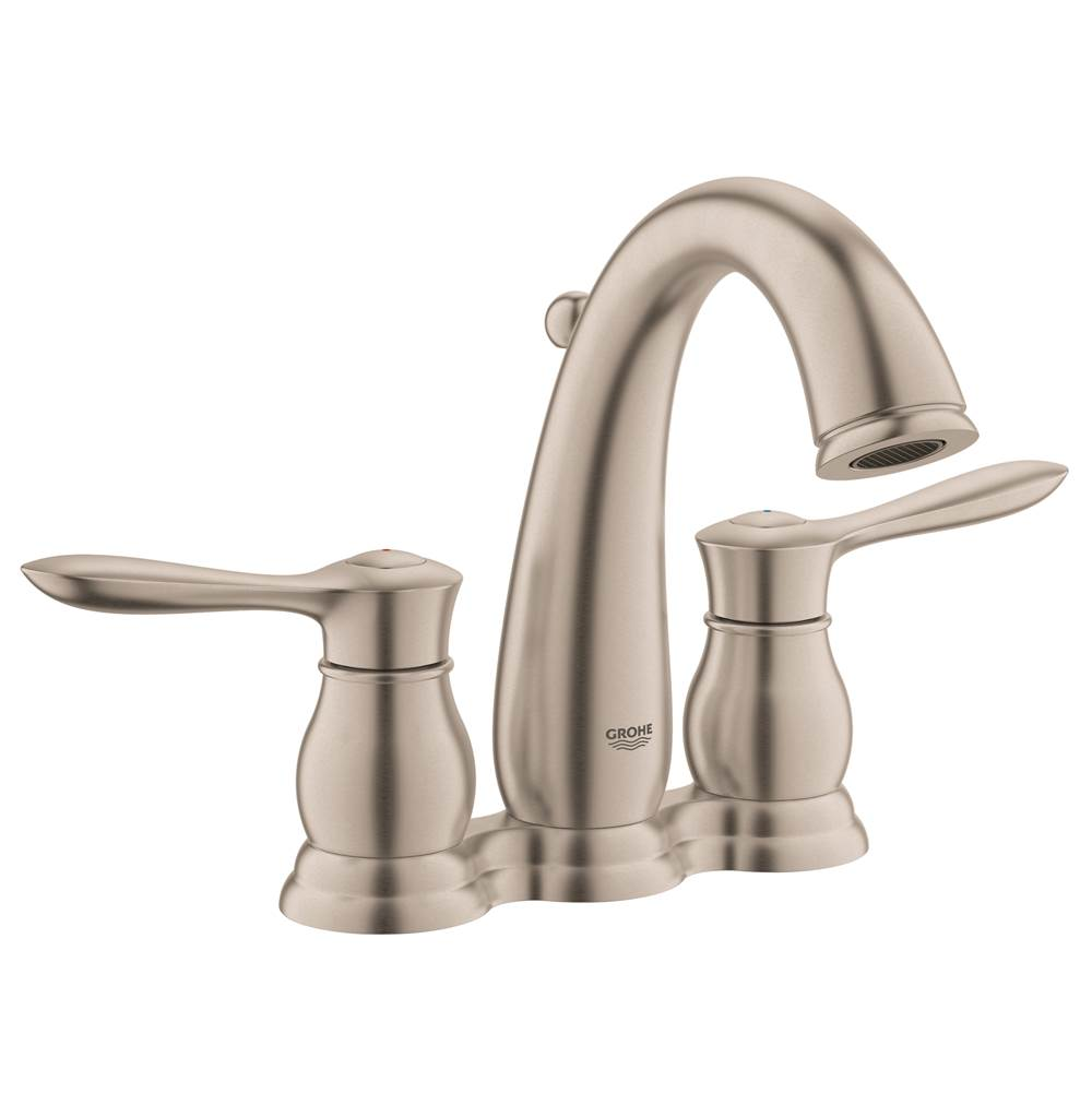 Grohe   20391ENA   Parkfield 4 In. Centerset 2 Handle Bathroom Faucet