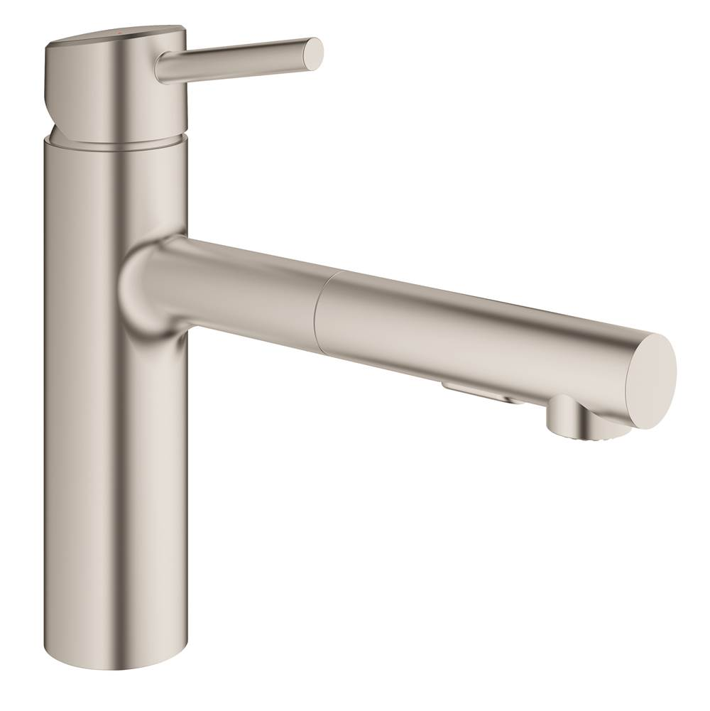 Grohe 31453DC1 at Elegant Designs Retractable Faucets Kitchen ...