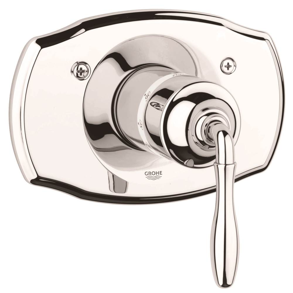 Grohe 19614BE0 at Elegant Designs Thermostatic Valve Trim Shower ...
