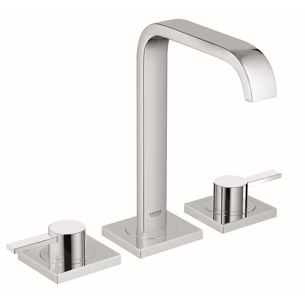 Grohe 2019100a At Elegant Designs Widespread Bathroom Sink Faucets