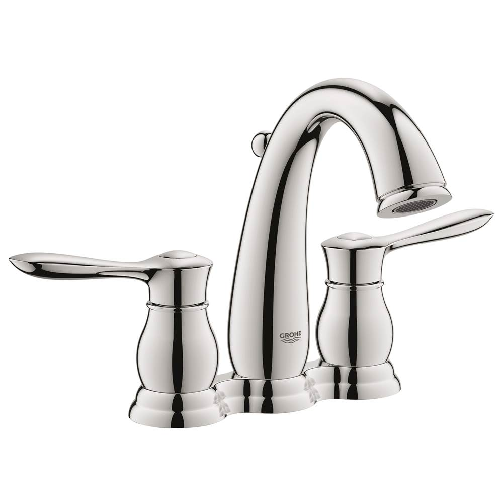 Grohe At Elegant Designs Centerset Bathroom Sink Faucets In - Bathroom sink faucet drain assembly