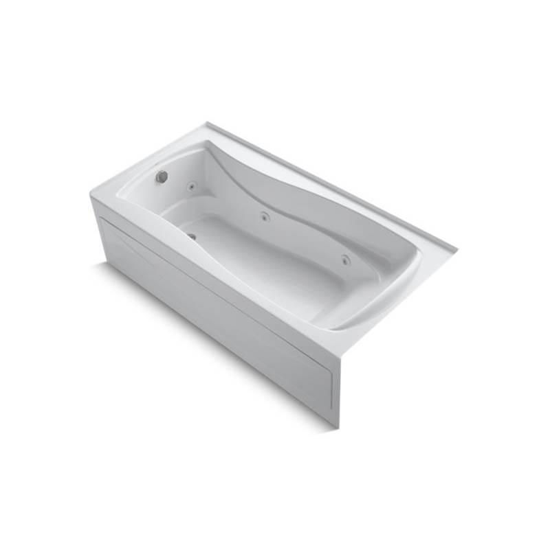 Kohler 1257-LAW-0 at Elegant Designs Three Wall Alcove Whirlpool ...