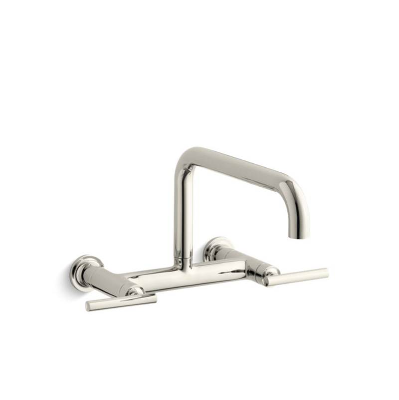 Kohler 7549 4 Sn At Elegant Designs Wall Mount Kitchen Faucets In A
