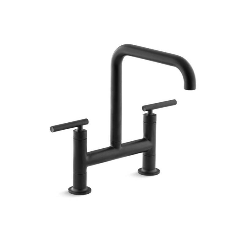 Kohler Bridge Kitchen Faucets item 7547-4-BL