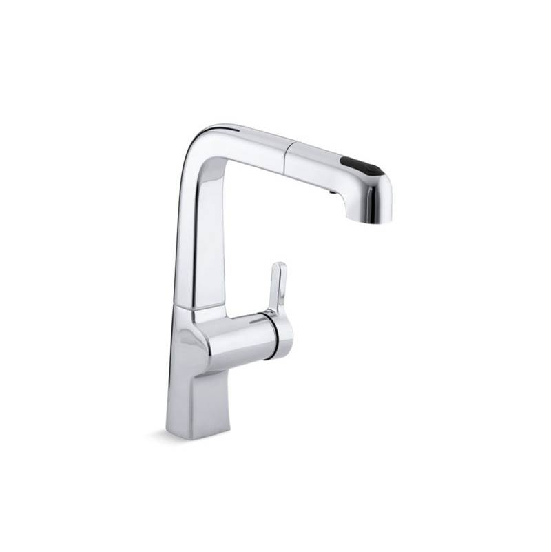 Kohler 6331 Cp At Elegant Designs Single Hole Kitchen Faucets In A