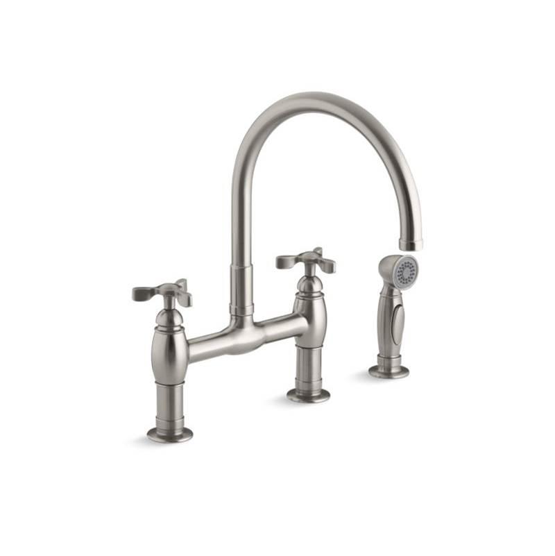 Kohler Kitchen Faucets Bridge Elegant Designs
