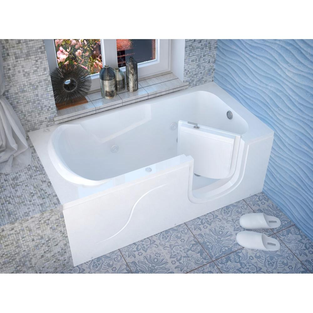 Meditub 3060SIRWH at Elegant Designs Walk In Soaking Tubs in a ...