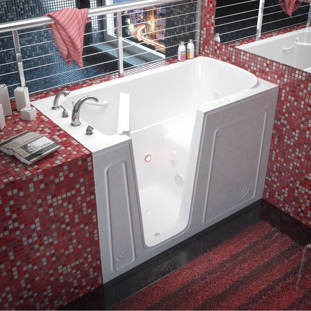 Meditub 3260LWH at Elegant Designs Walk In Whirlpool Bathtubs in a ...