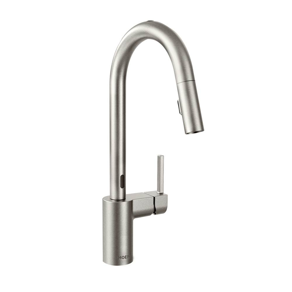 Moen 7565esrs At Elegant Designs Single Hole Kitchen Faucets In A