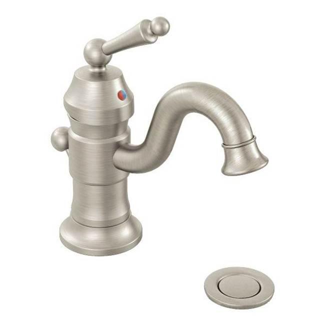 Moen S411BN at Elegant Designs Single Hole Bathroom Sink Faucets in ...