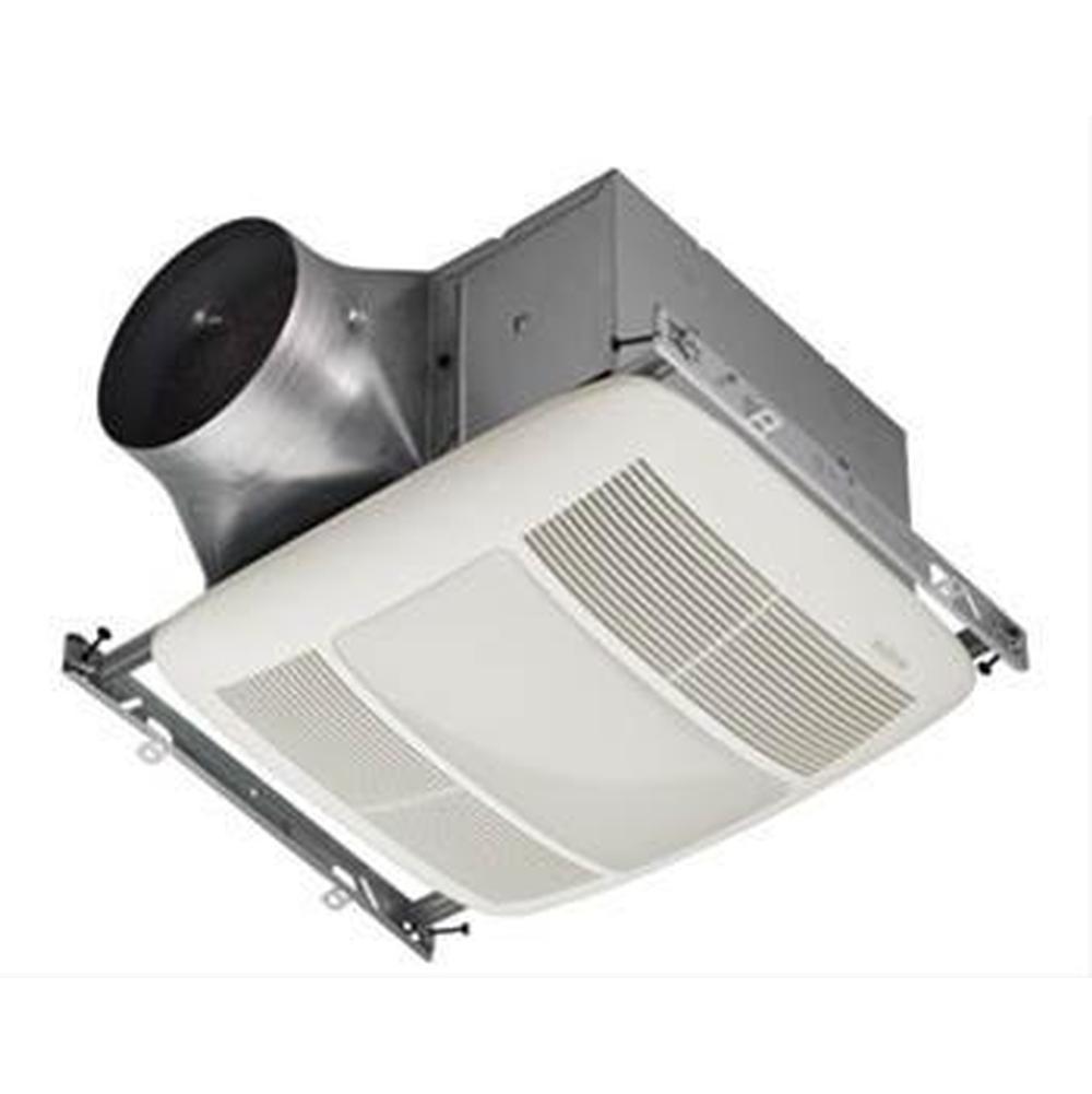 Broan Nutone Xn110l 110 Cfm 0 3 Sones Energy Star Fan With 36w Fluorescent Light 2 18 Watt Gu24 Bul