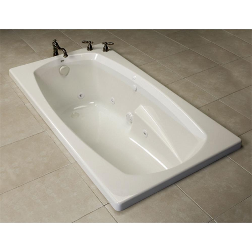Oasis TR-B-270 WHT/6P WHT at Elegant Designs Drop In Soaking Tubs in ...