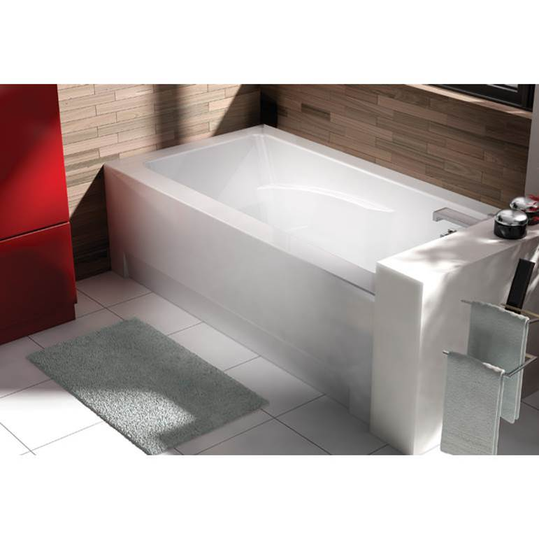 Oceania Baths Three Wall Alcove Air Bathtubs item CI66LCA01