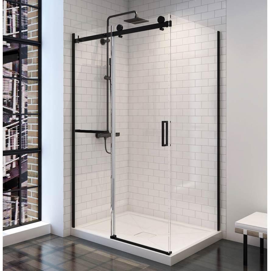 Oceania Baths PBSD60R48BK at Elegant Designs None Shower Doors