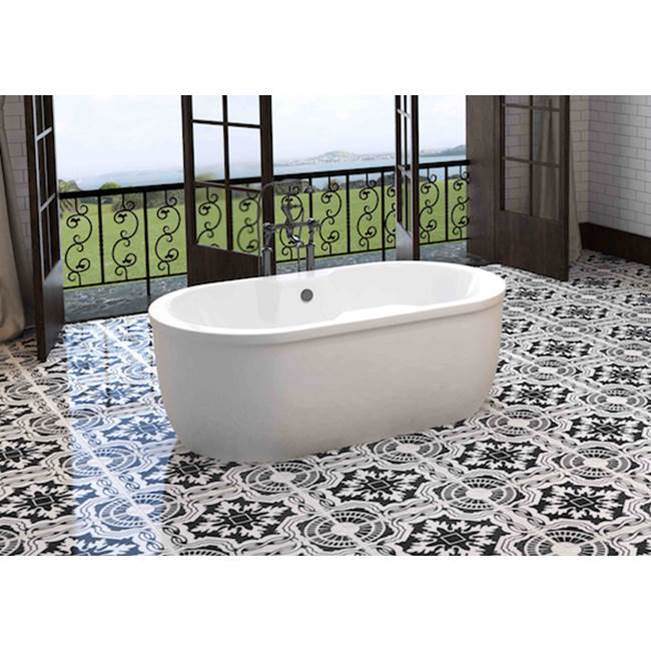 Oceania Baths Free Standing Air Bathtubs item SO66FSAM01