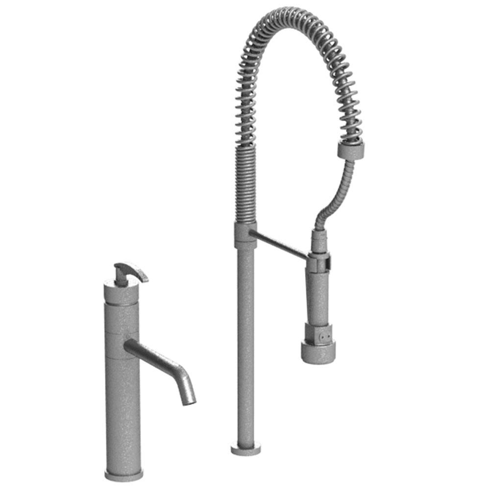 Rubinet Single Hole Kitchen Faucets item 8ILALPNRD