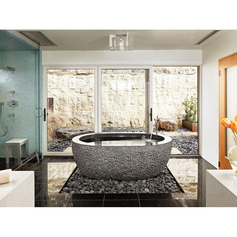 Stone Forest C40-60 BL at Elegant Designs Free Standing Soaking Tubs ...